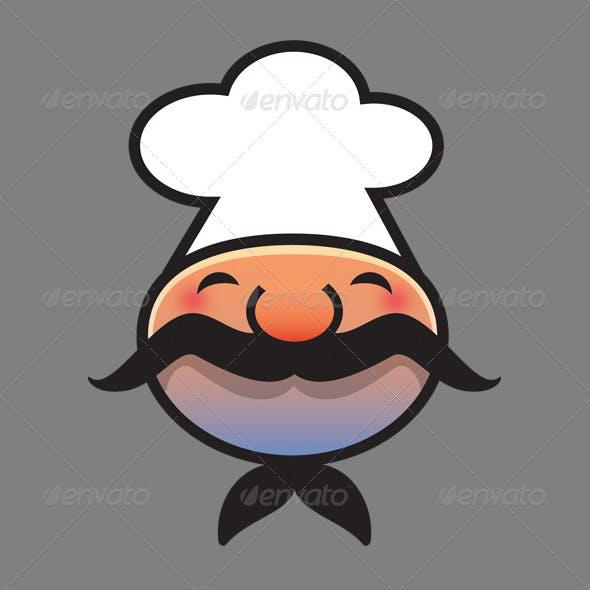 Chef Logo Head
