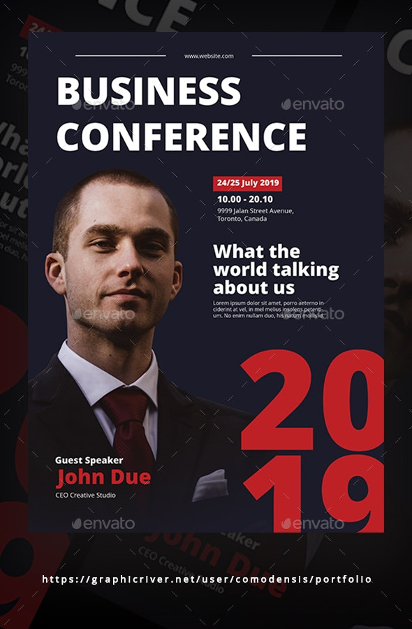 Business Conference Flyer Templates - Corporate Flyers