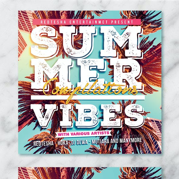 Summer Vibes Album Artwork Cover