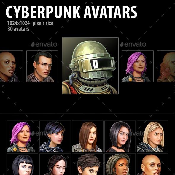 Cyberpunk Avatars