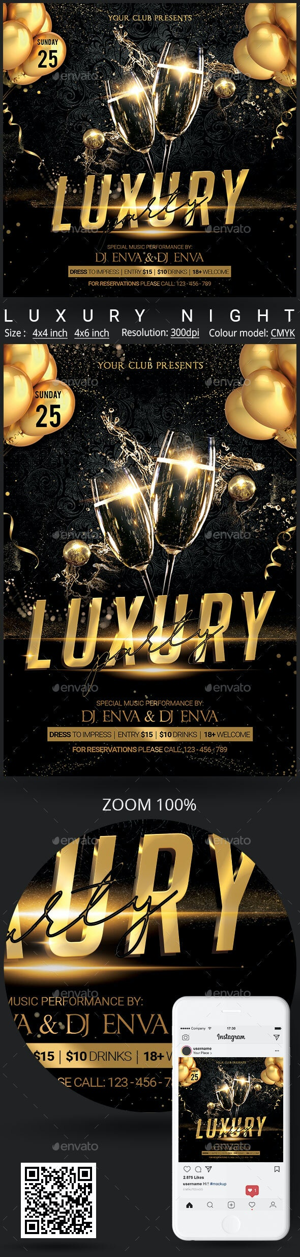 Luxury - Clubs & Parties Events