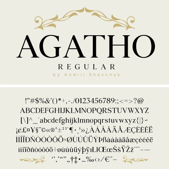 Agatho Regular