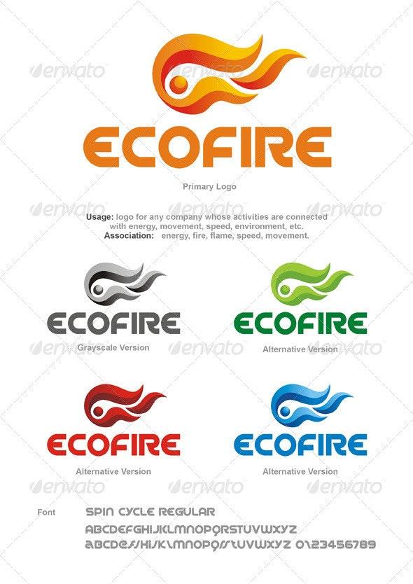 Ecofire Logo - Abstract Logo Templates