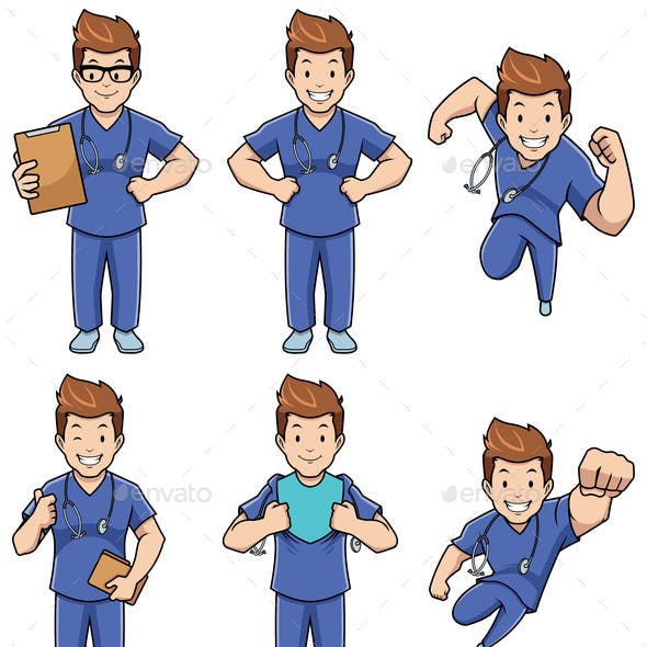 Nurse Male Set
