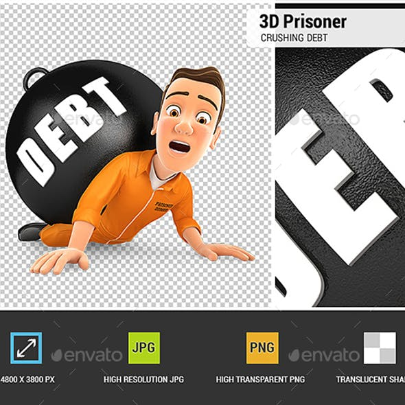 3D Prisoner Crushing Debt