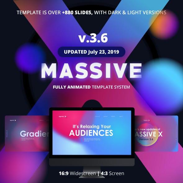 Massive X Presentation Template v.3.6