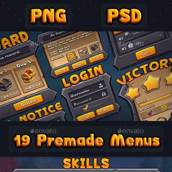 RPG UI Kit