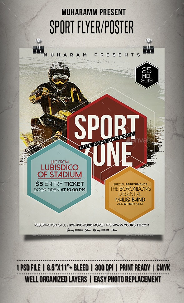 Sport Flyer / Poster - Events Flyers