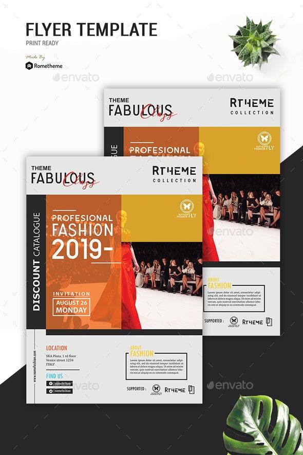 Fashion Modern Flyer vol. 07 - Events Flyers