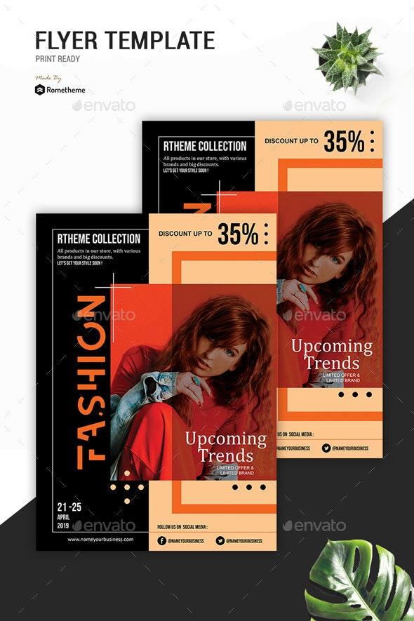 Fashion Modern Flyer vol. 08 - Events Flyers