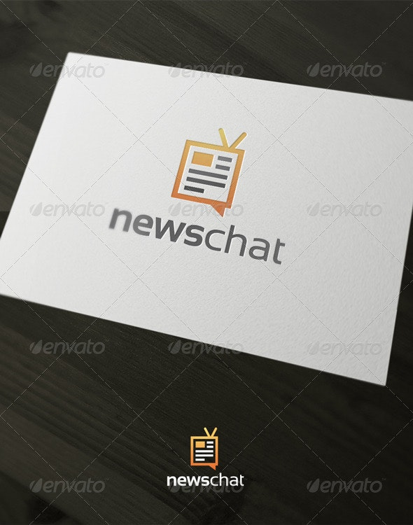 News Chat - Vector Abstract