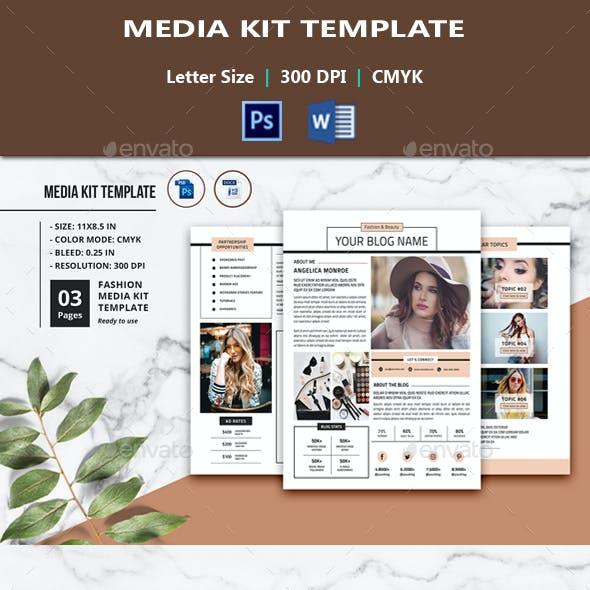 Media Kit Template V01