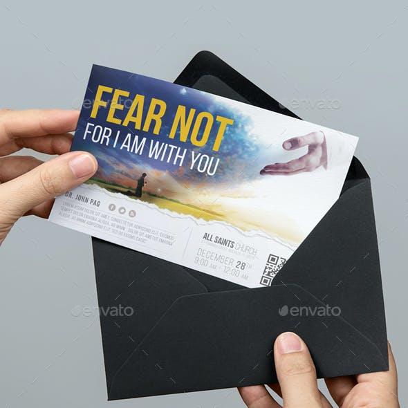 Fear Not Church Flyer Vol.2