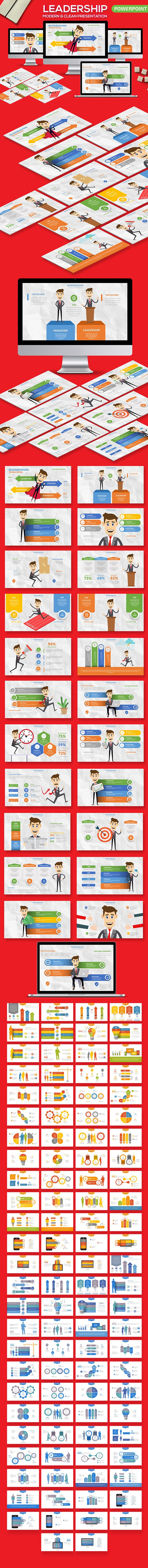 Leadership Powerpoint Presentation - PowerPoint Templates Presentation Templates