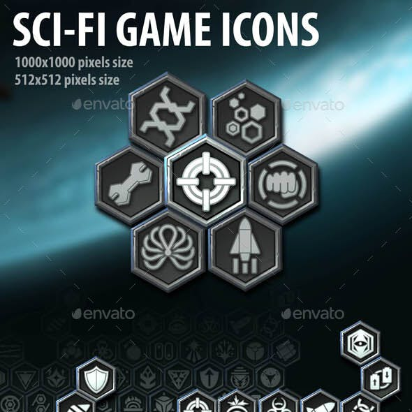 Sci-Fi Game Icons