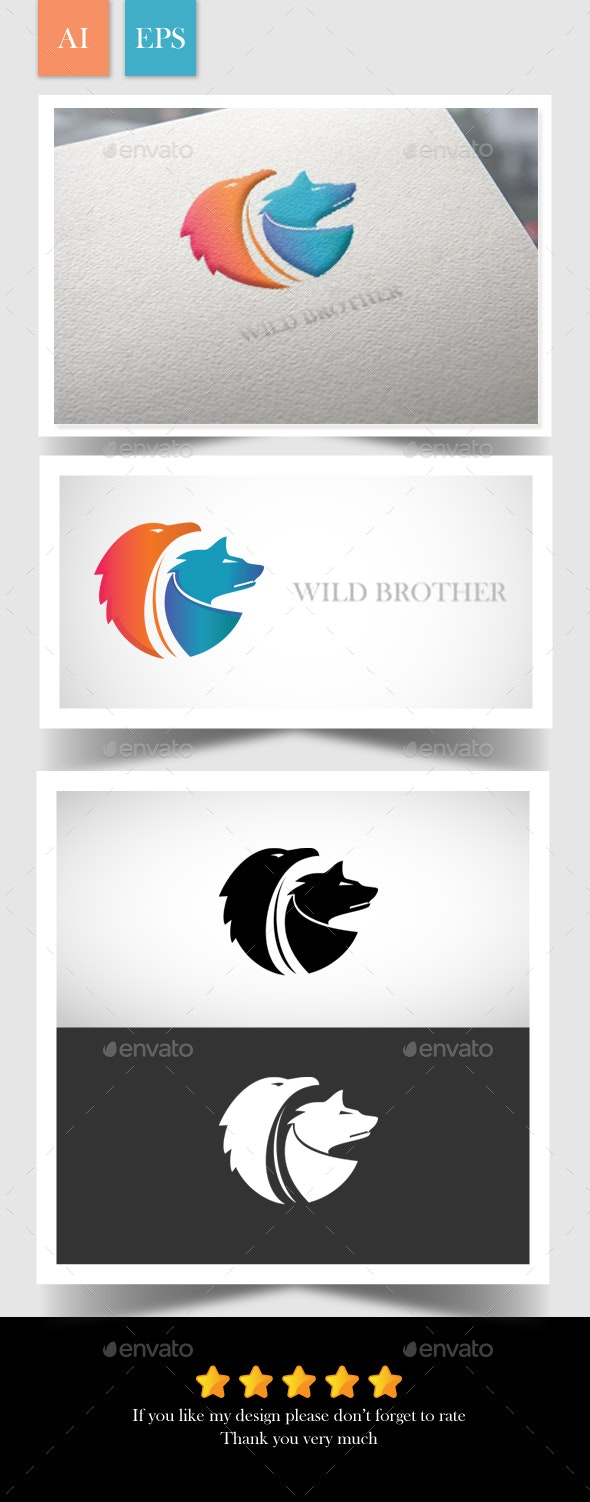 Wild Brother Logo - Logo Templates
