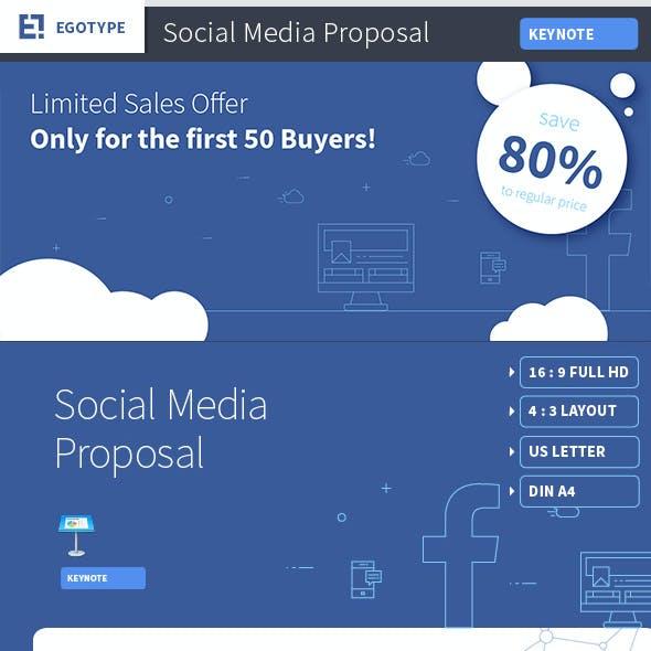 Social Media Presentation Template