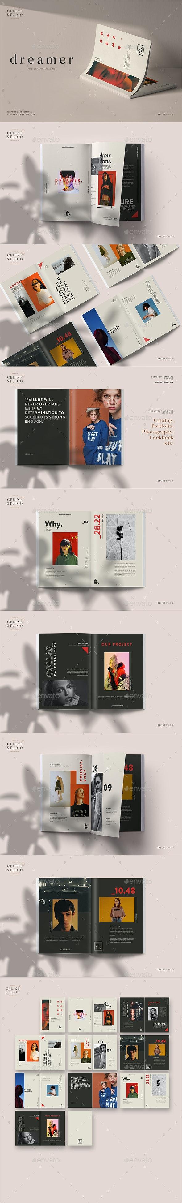 Dreamer - Photograph Magazine - Magazines Print Templates