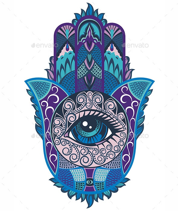 Hamsa Symbol - Miscellaneous Vectors