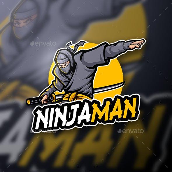 Mascot Logo Ninjaman