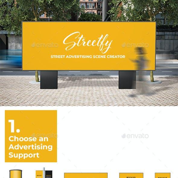Streetfy - Street Advertising Scene Creator