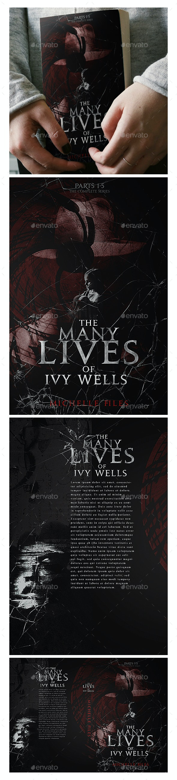 Book Cover - Ivy Wells - Miscellaneous Print Templates