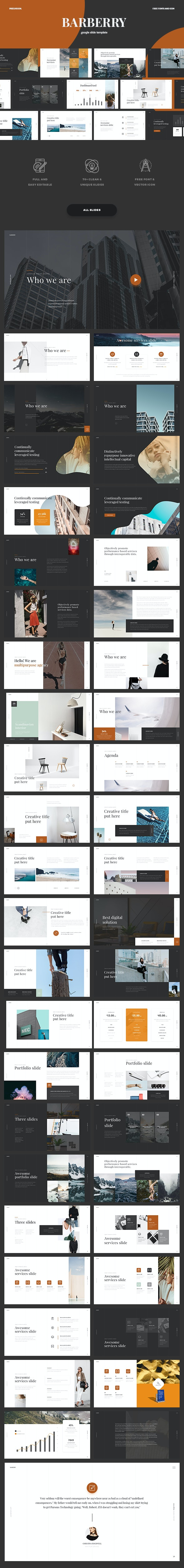 Barberry - Powerpoint Presentation - PowerPoint Templates Presentation Templates