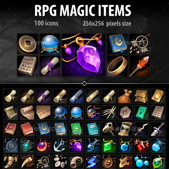 RPG Magic Items