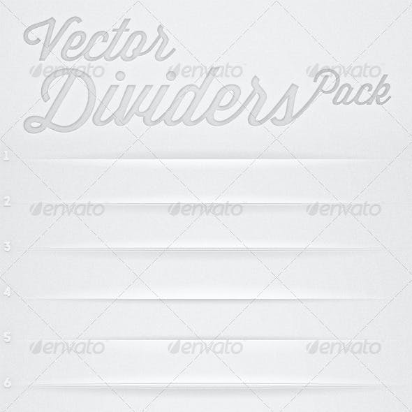 Vector Dividers Pack