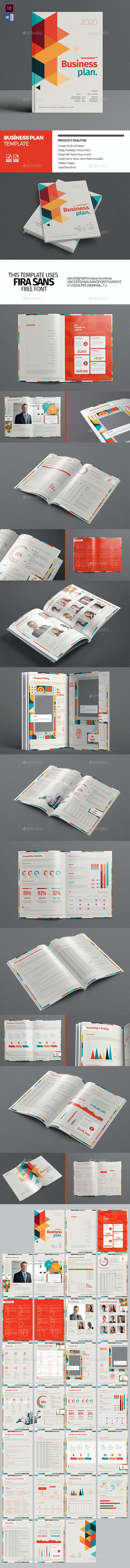 Business Plan Template - Proposals & Invoices Stationery