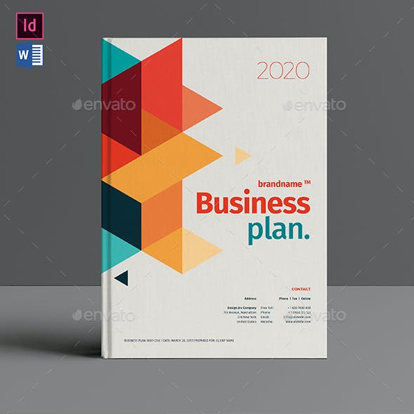 Business Plan Indesign Graphics Designs Templates