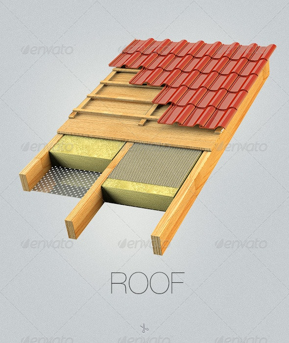 Roof - Architecture 3D Renders