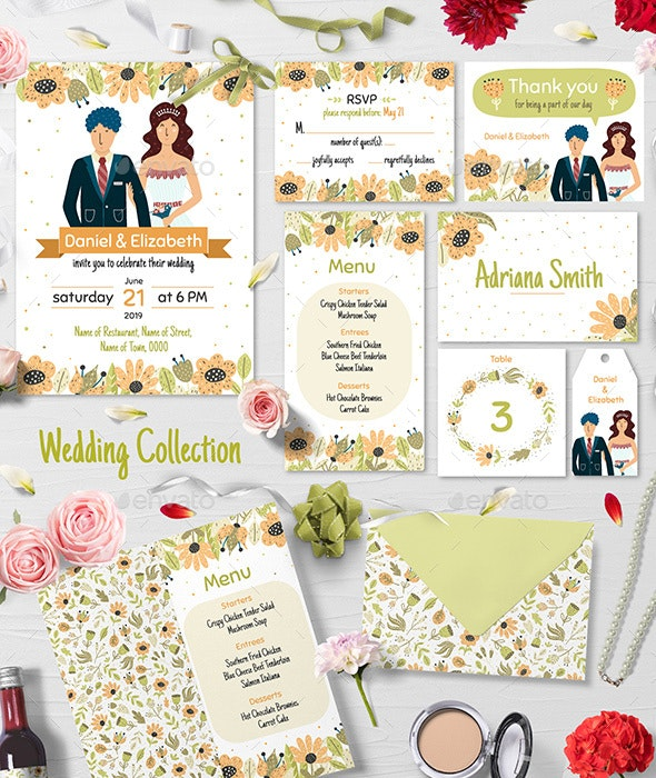 Bride and Groom Wedding Collection - Weddings Seasons/Holidays