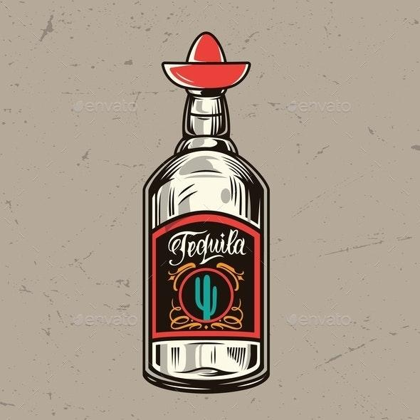 Vintage Tequila - Miscellaneous Vectors
