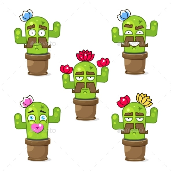 Green Mexican Cactus - Miscellaneous Characters