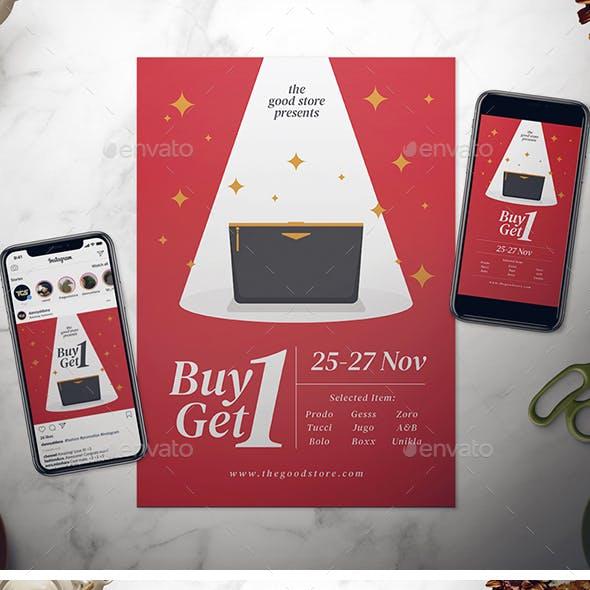 Elegant Sale Flyer
