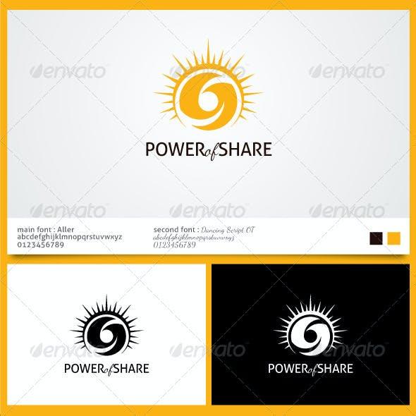 Power of Sharing Logo