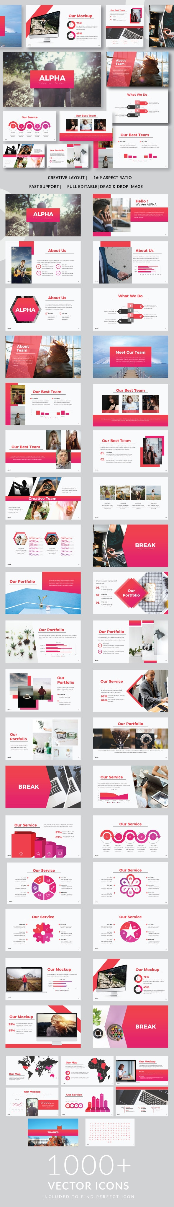 Alpha Powerpoint Templates - PowerPoint Templates Presentation Templates