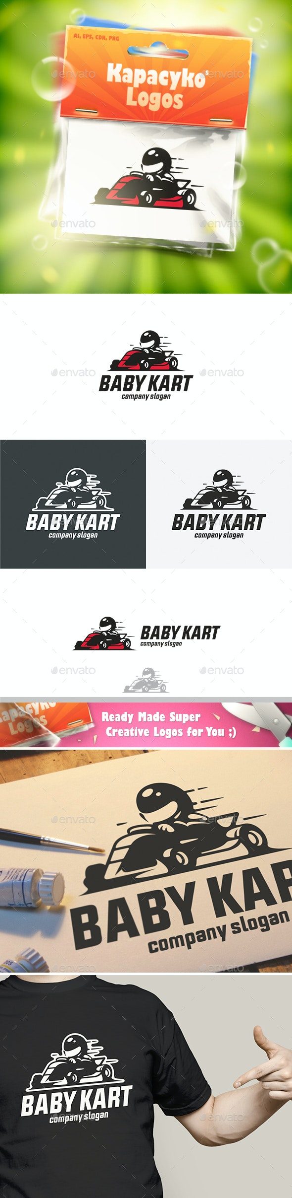 Baby Kart Logo - Humans Logo Templates