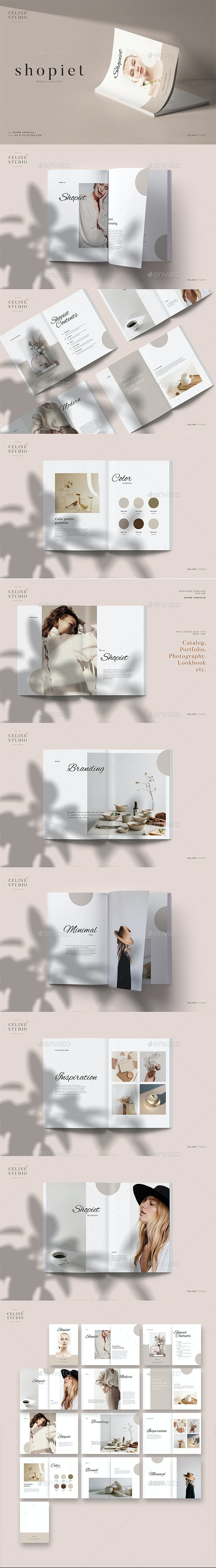 Shopiet - Brand Guidelines - Magazines Print Templates
