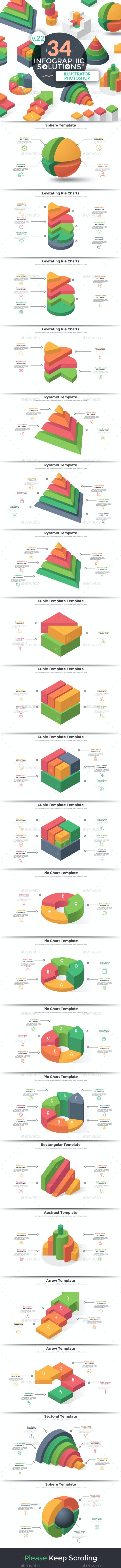 Infographic Solutions. Part 22 - Infographics