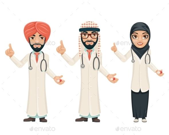 Quality Treatment Arab Traditional National Muslim - Health/Medicine Conceptual