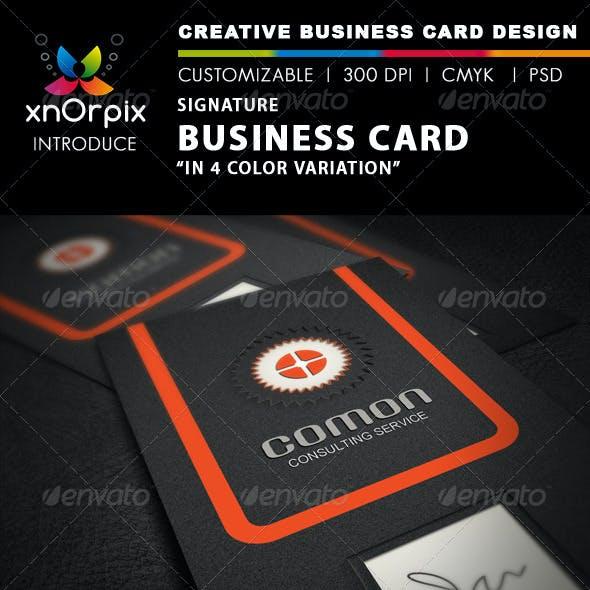Signature Business Card