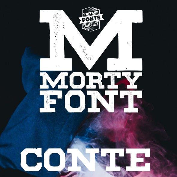 Morty - 2 vintage fonts