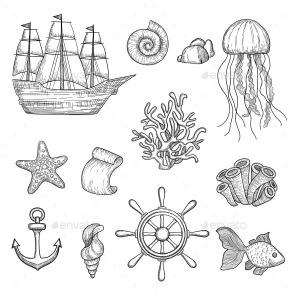 Nautical Elements - Miscellaneous Vectors