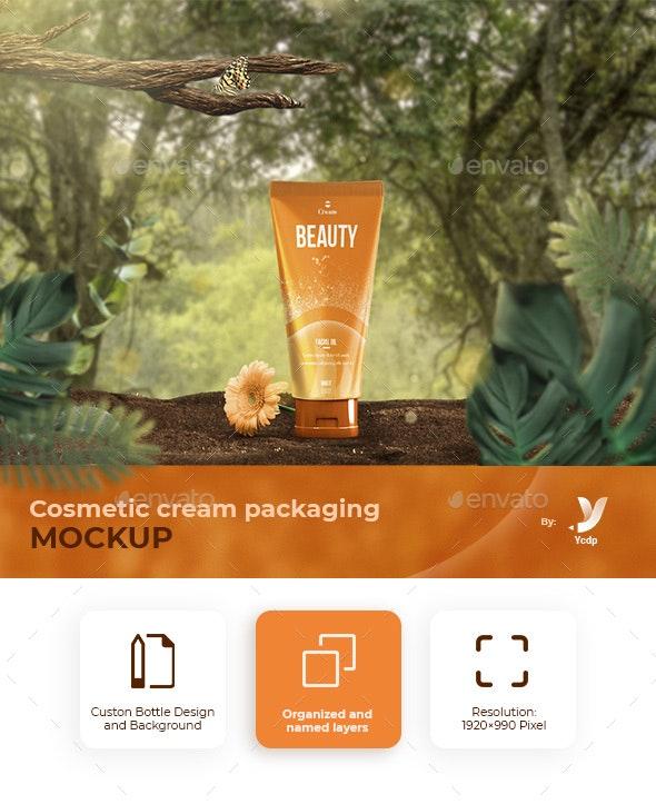 Cosmetic Cream Packaging - Beauty Packaging