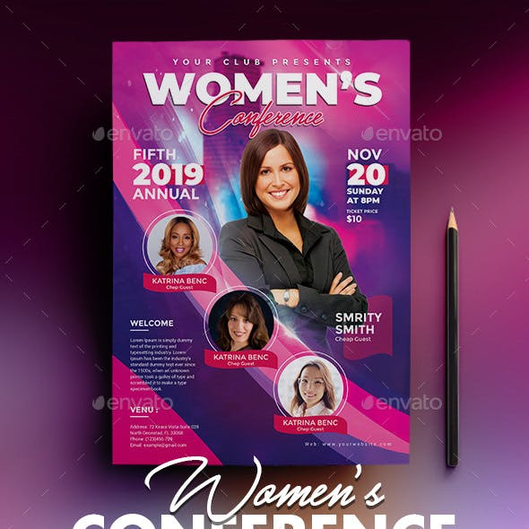 Women Conference Flyer