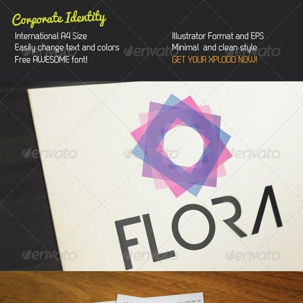 Flora Stationery