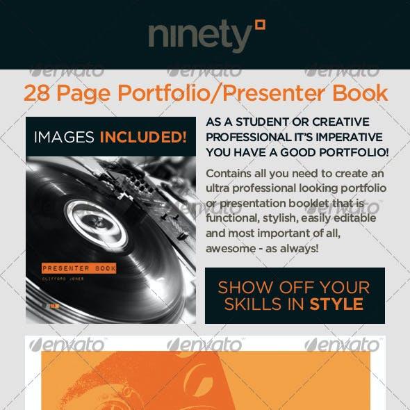 Portfolio Book/Presenter