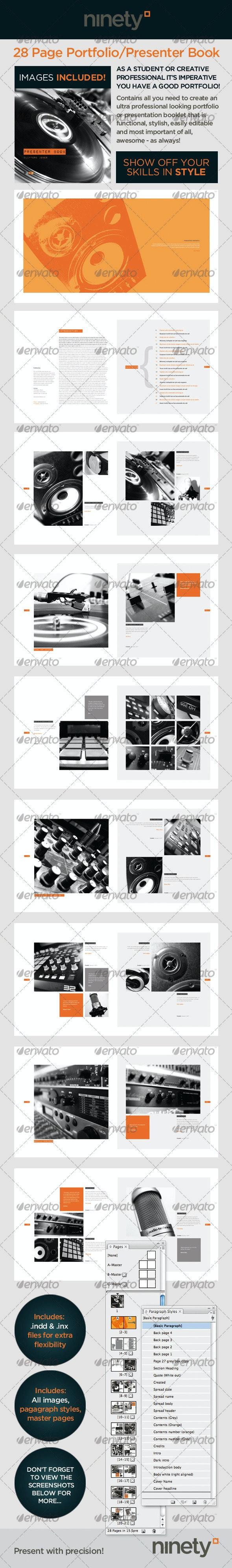 Portfolio Book/Presenter - Portfolio Brochures